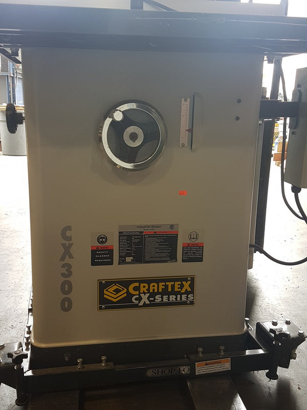 Craftex CX300 Shaper - Coast Machinery Group Inc
