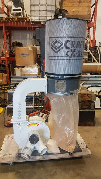 Craftex CX400 Dust Collector - Coast Machinery Group Inc