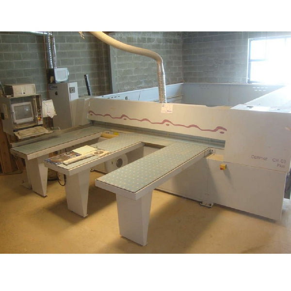 2000 Homag CH03 Plus Optimat Panel Saw - Coast Machinery Group Inc