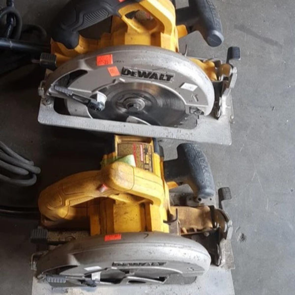 2 DeWalt Circular Saws - Coast Machinery Group Inc