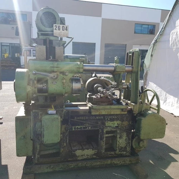 623-2 Barber Colman No 12 Hob Spline Shaft Cutting Machine