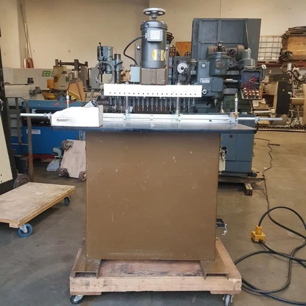 637-2 Ritter R19F Multi Head Boaring Machine