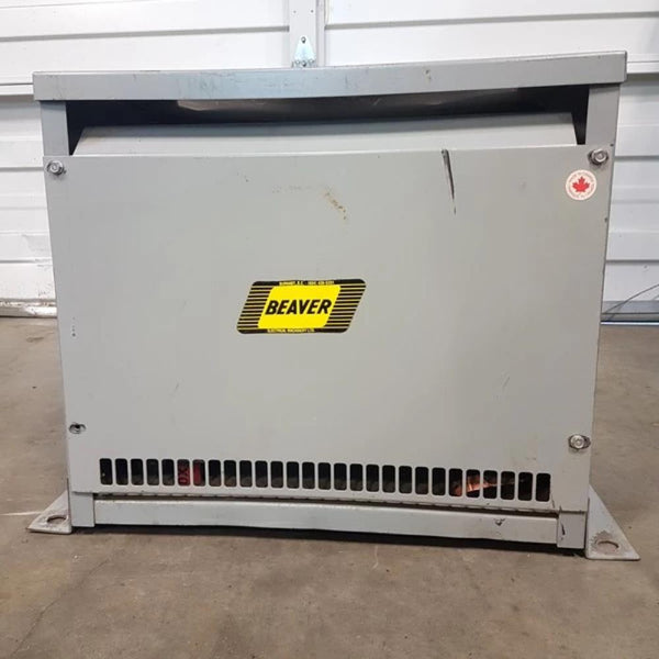 Beaver 30 KVA 480V - 240V Transformer - Coast Machinery Group Inc