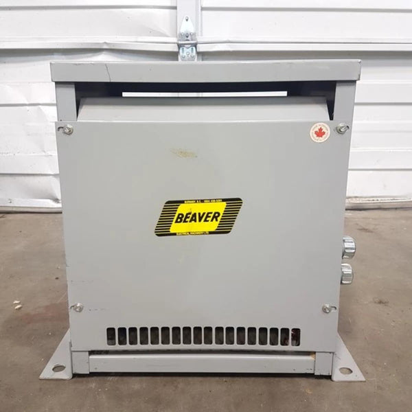 Beaver 7.5 KVA 480V - 120/240V Transformer - Coast Machinery Group Inc