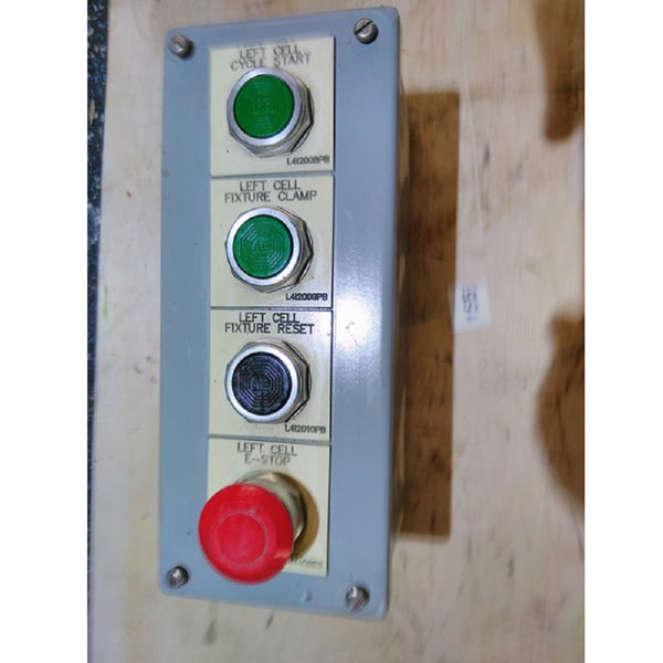 Control unit 4 buttons i/c stop - Coast Machinery Group Inc