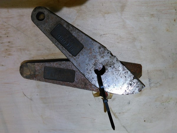 "Record #936 Replacement Cutter Heads Aprox 7 1/2 "" long - Coast Machinery Group Inc"