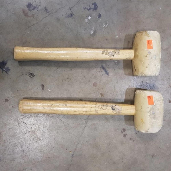 Rubber Mallets (x2) - Coast Machinery Group Inc