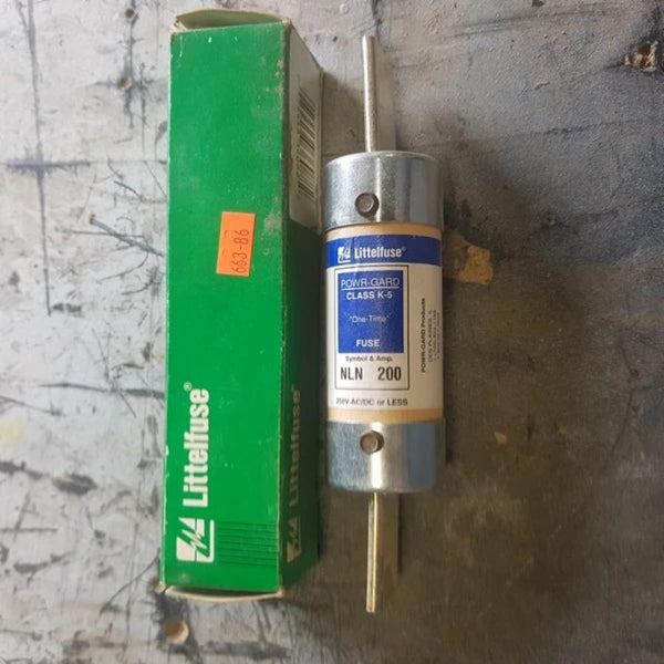 Littelfuse 1 Time Fuse Power Guard Class K5 NLN [variant_sku] - Coast Machinery Group Inc