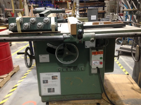 668-4 General 550 Table Saw