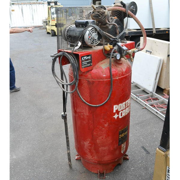 Porter Cable 80Gal Compressor - Coast Machinery Group Inc
