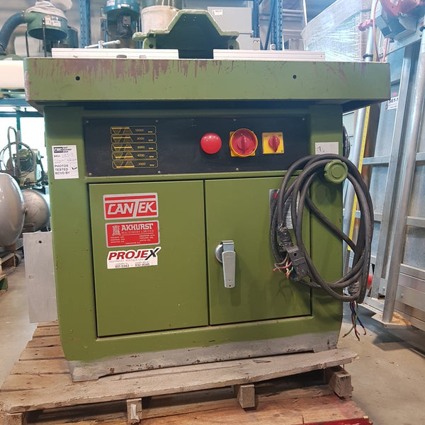 Cantek SS-512M Shaper - Coast Machinery Group Inc