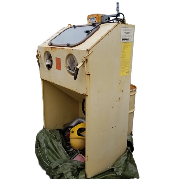 Sand Blast Cabinet - Coast Machinery Group Inc