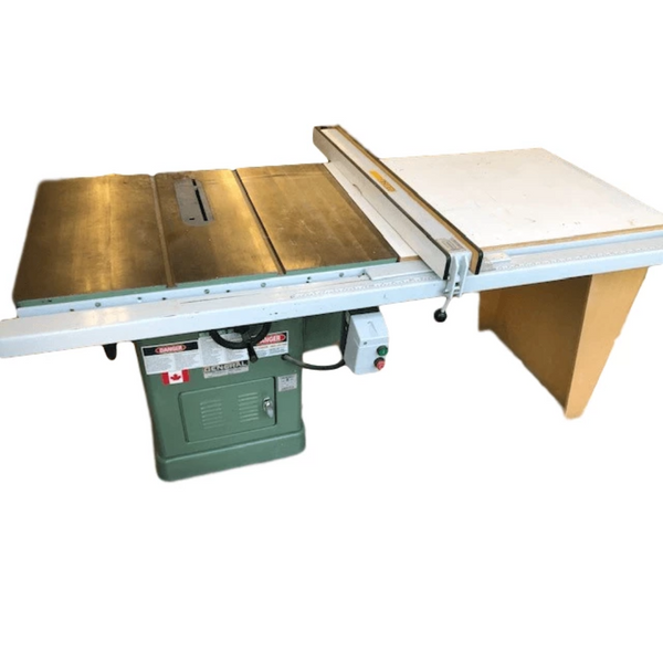 General Table Saw w/Fence - Coast Machinery Group Inc