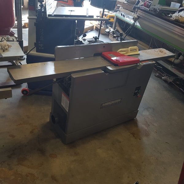 "Magnum Industrial 8"" Jointer 81-350 [variant_sku] - Coast Machinery Group Inc"