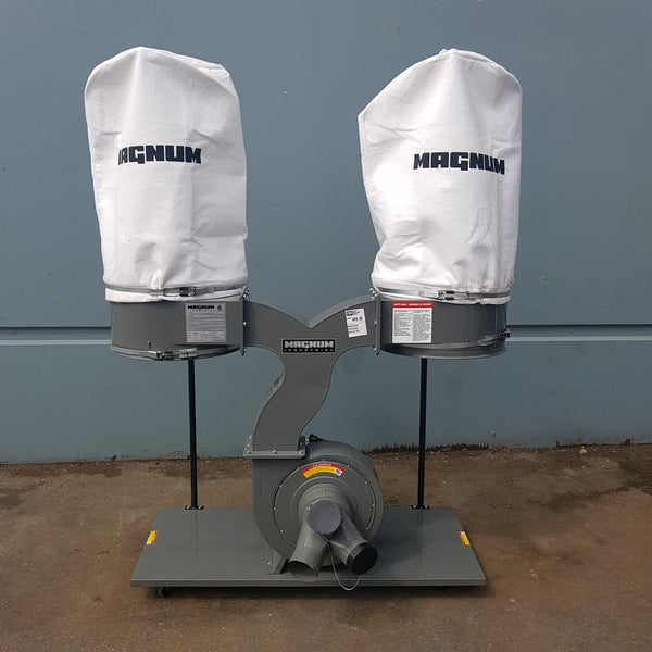 693-8 Magnum Industrial 3 HP Dust Collector 11-400