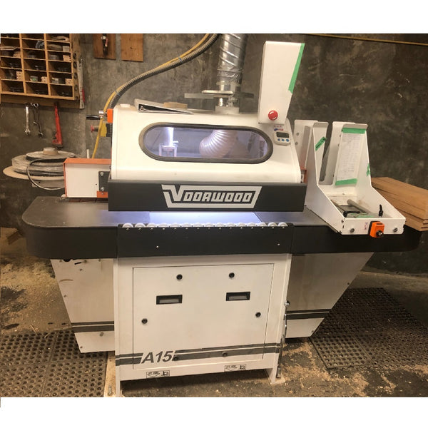 Voorwood A15 Stile & Rail Shaper - Coast Machinery Group Inc