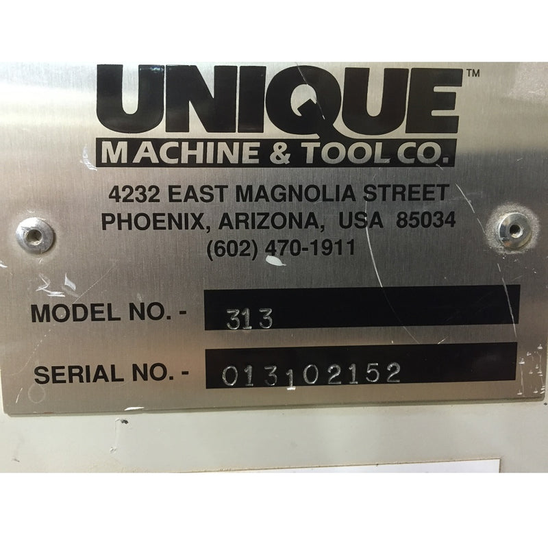 Unique 313 Mitre Machine - Coast Machinery Group Inc