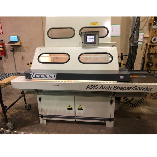 Voorwood Series 515 Edge Machine - Coast Machinery Group Inc