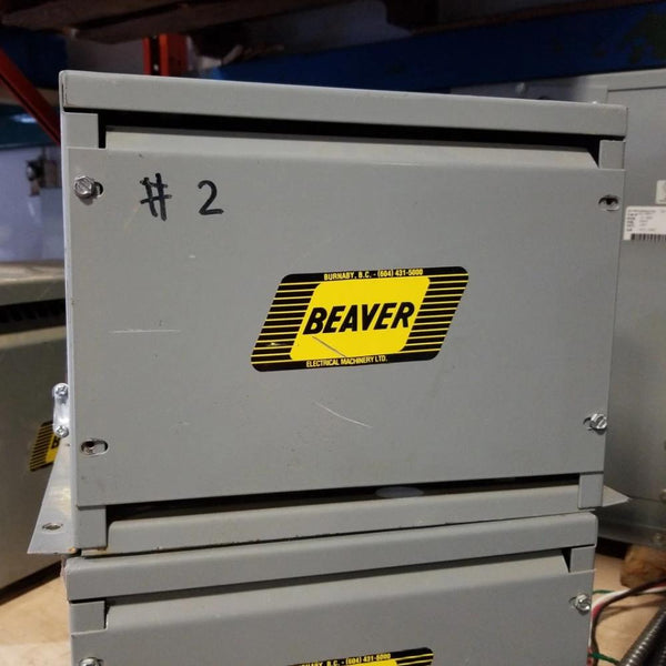 Beaver 6KVA 400Y V Auto - 240Y/380Y ANN Transformer - Coast Machinery Group Inc