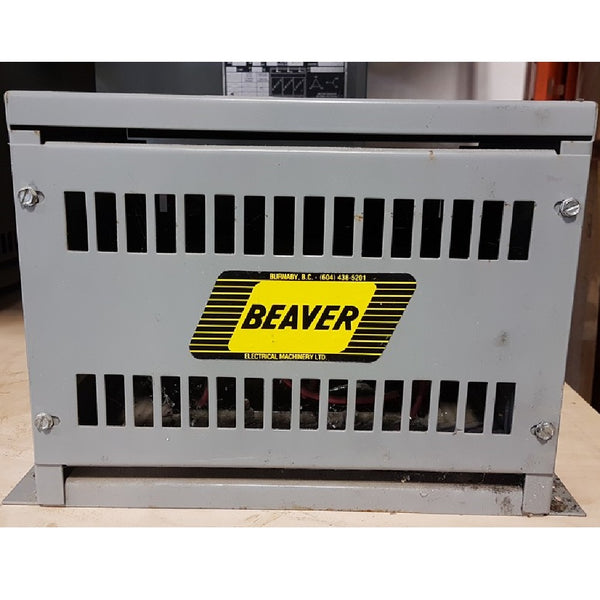 Beaver 10KVA 600V Auto - 480V   ANN Transformer - Coast Machinery Group Inc