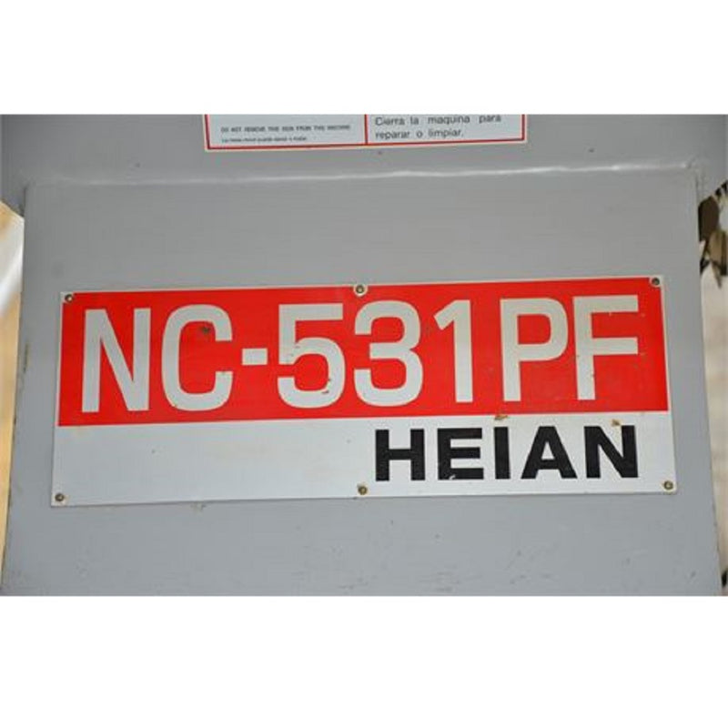 2007 Heian CNC NC-531PF Router - Coast Machinery Group Inc