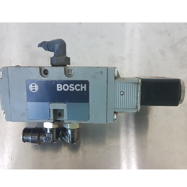 Bosch 0 820 022 990 Pneumatic Solenoid Valve / 1 824210237 Solenoid Coil - Coast Machinery Group Inc