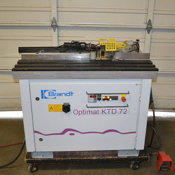 Brandt Optimat KTD-72 Contour Edgebander - Coast Machinery Group Inc