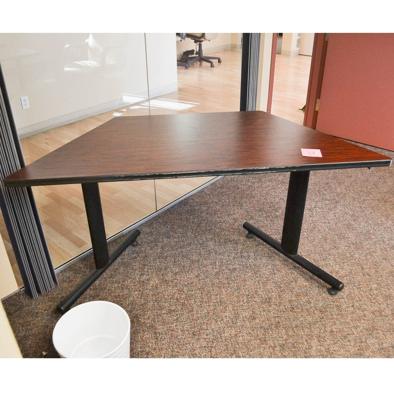 Cherry Trapezoid Table - Coast Machinery Group Inc