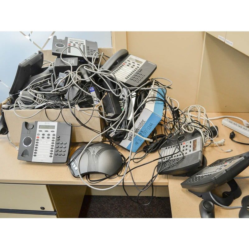 Miscellaneous Phones, Cords, Conference Phones - Coast Machinery Group Inc