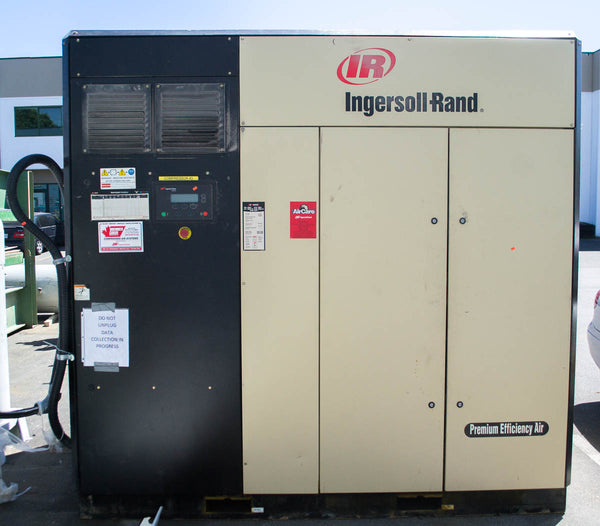 Ingersol Rand 125 hp Screw Compressor [variant_sku] - Coast Machinery Group Inc