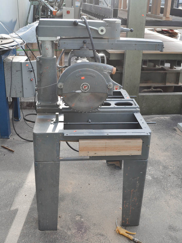 Rockwell Delta Radial Arm Saw - Coast Machinery Group Inc