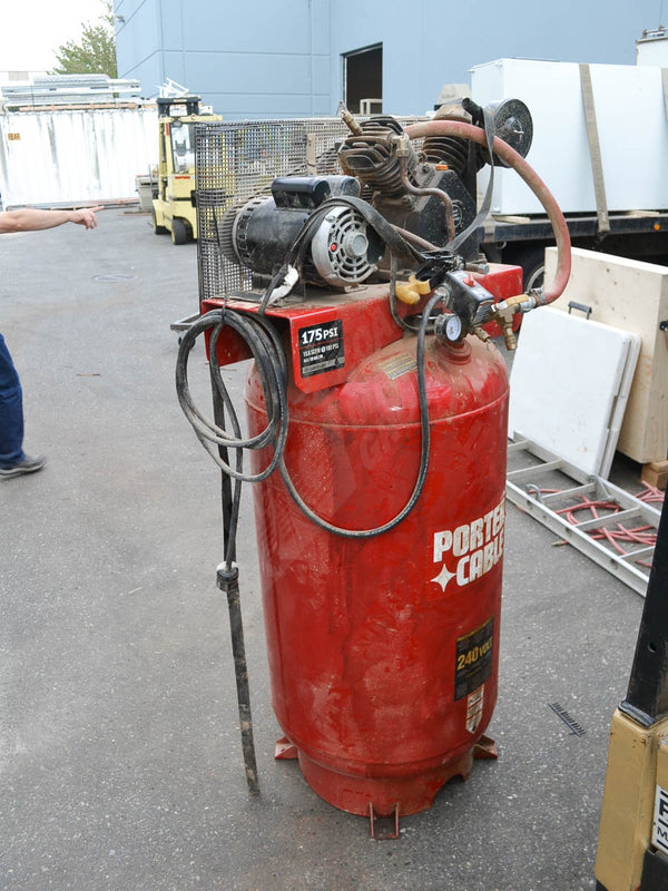 Porter Cable Compressor - Coast Machinery Group Inc