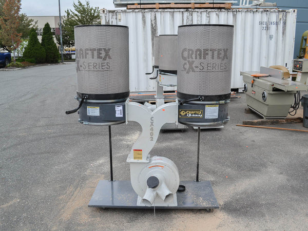 Craftex CX402 Dust Collector - Coast Machinery Group Inc