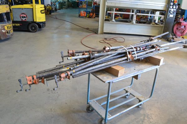 16 7ft Bar Clamps 1xLOT - Coast Machinery Group Inc
