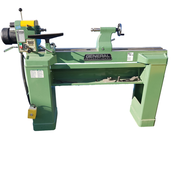 General Wood Lathe - Coast Machinery Group Inc
