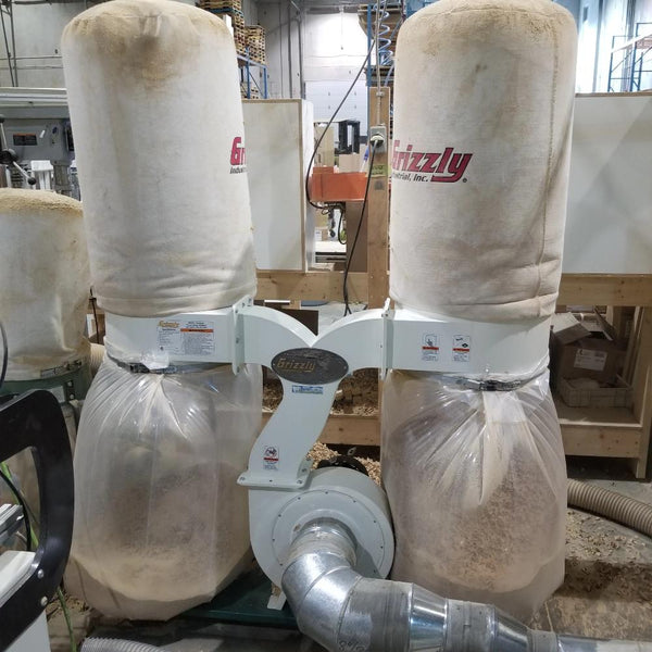 Grizzly G1030Z2P Dust Collector - Coast Machinery Group Inc
