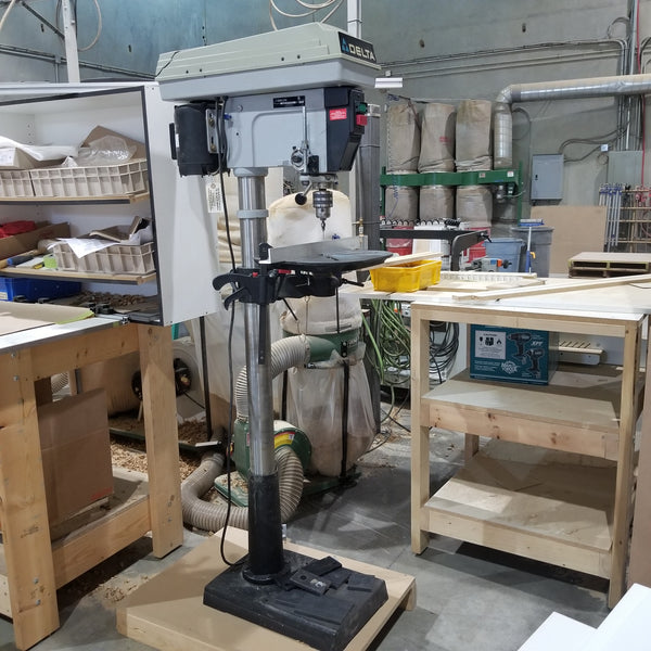 "Delta 16 1/2"" Drill Press - Coast Machinery Group Inc"