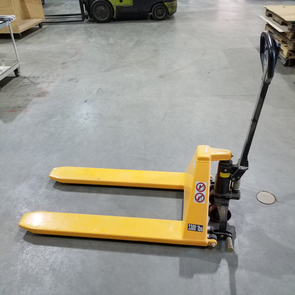 Palco Pallet Jack - Coast Machinery Group Inc