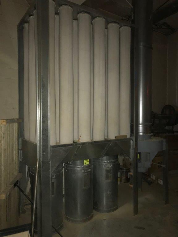 Nederman Dantherm S-1000 Dust Collector - Coast Machinery Group Inc