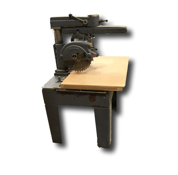 Rockwell Radial Arm Saw - Coast Machinery Group Inc