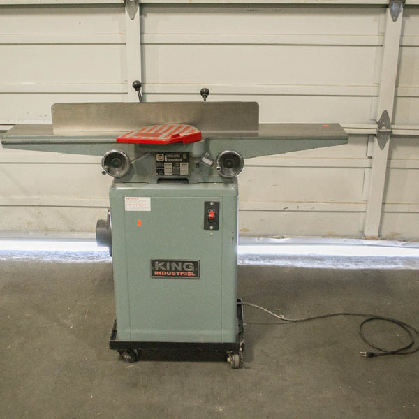"King Industrial KC-60C 6"" Wood Jointer - Coast Machinery Group Inc"