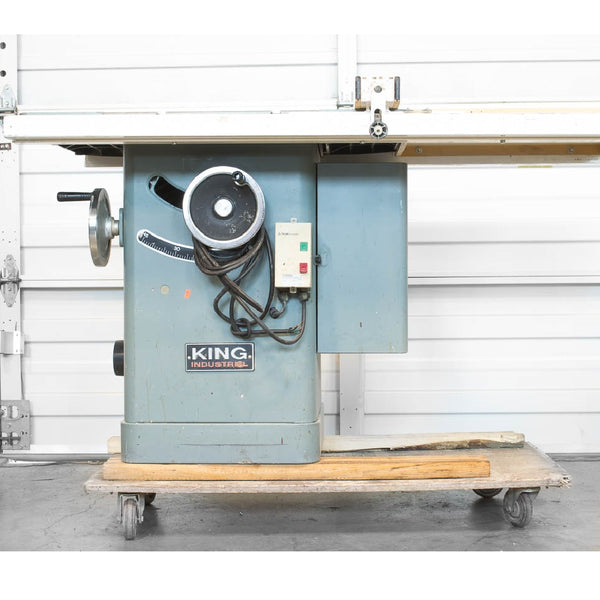 "King Industrial 10"" Table Saw - Coast Machinery Group Inc"