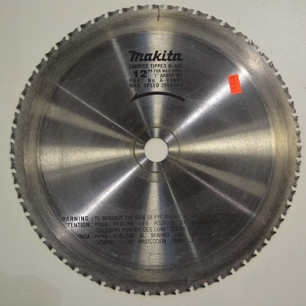 "Makita 12"" Saw Blade 60T 1"" Arbor - Coast Machinery Group Inc"