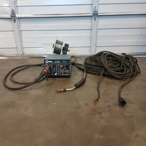 Miller S-22A 24V Constant Speed Wire Feeder - Coast Machinery Group Inc