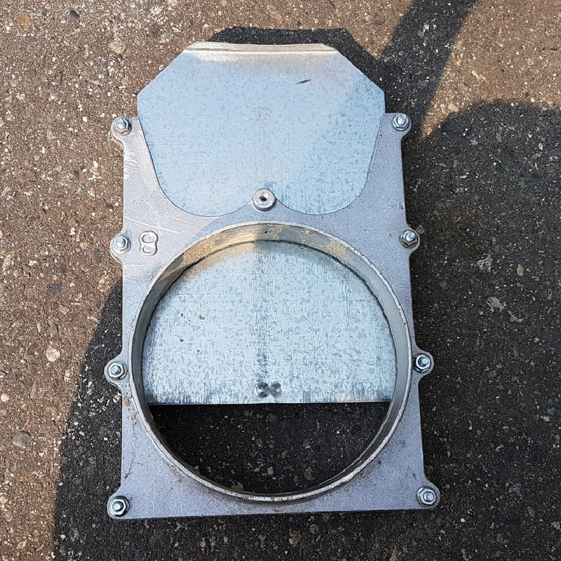 "XD Blast Gate Manual 8"" [product_sku] - Coast Machinery Group Inc"