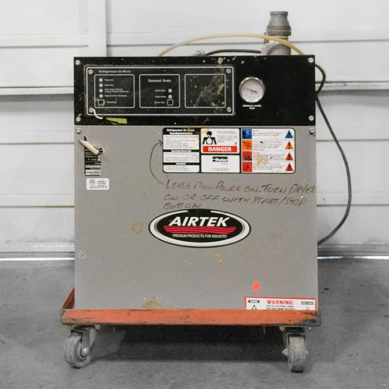 Airtek Refrigerated Air Dryer - Coast Machinery Group Inc