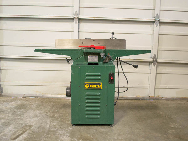 "Craftex B706N 6"" Jointer - Coast Machinery Group Inc"