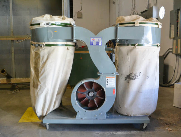 King KC-3043C Two Bag Dust Collector - Coast Machinery Group Inc