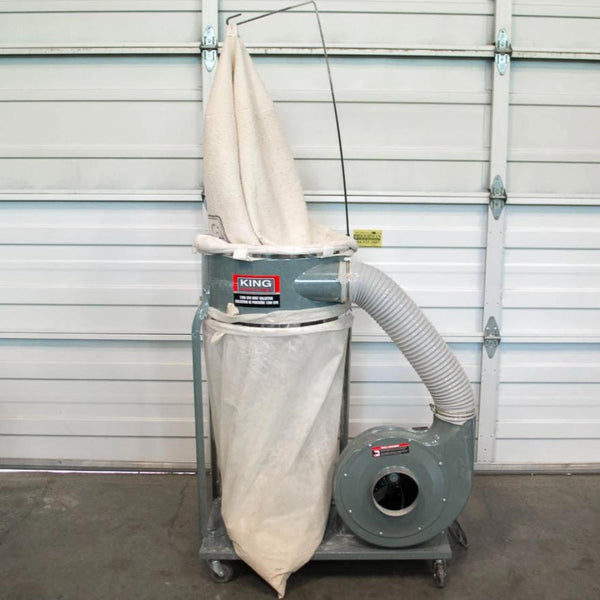 King KC-3105C Single Bag Dust Collector - Coast Machinery Group Inc