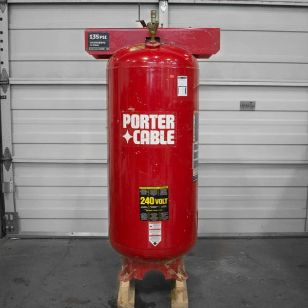 Porter Cable C7510 Vertical Compressor - Coast Machinery Group Inc